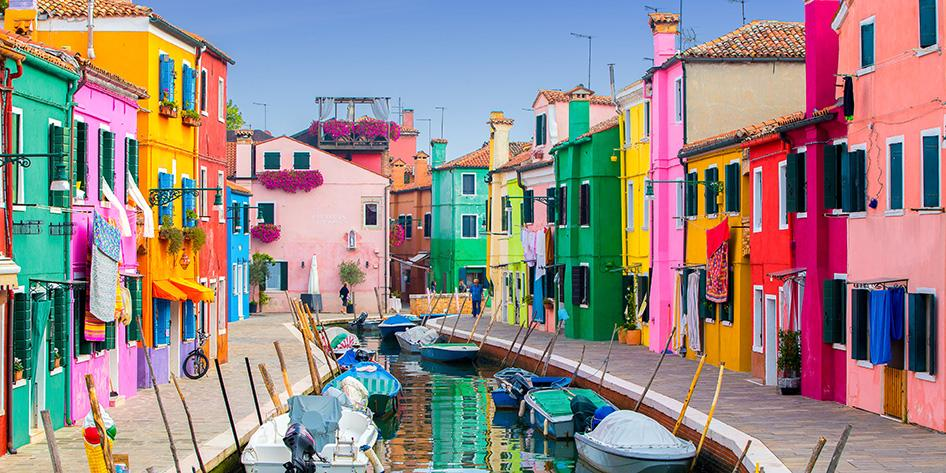Burano, Italy Photos