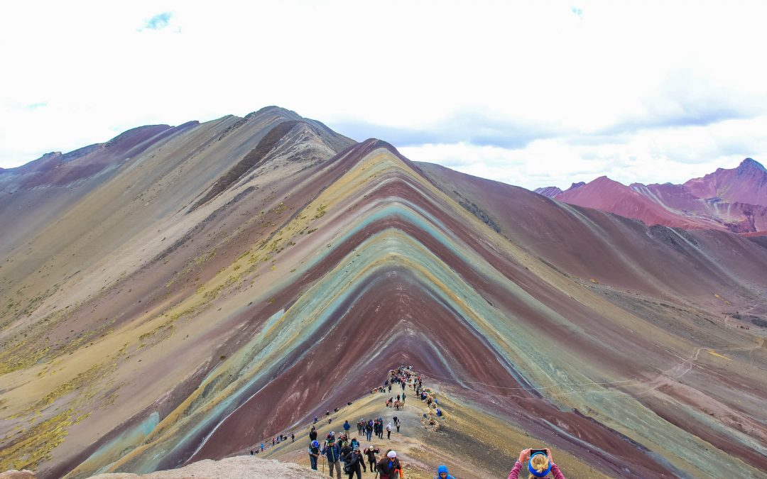 Rainbow Mountain Photos